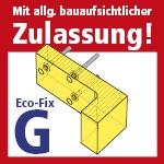 Allg. bauaufsichtl. Zulassung Eco-Fix G